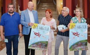 Bilbao se prepara para «ser la capital de la cultura y el ocio» en Aste Nagusia