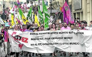 La izquierda abertzale busca apropiarse del 'no' al G-7 de Biarritz para ganar visibilidad internacional