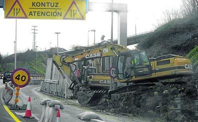 La segunda fase de las obras en la zona de Rontegi para atajar las caravanas arrancará en otoño