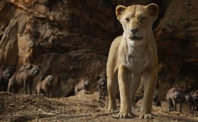 'El rey león', la película más taquillera del año