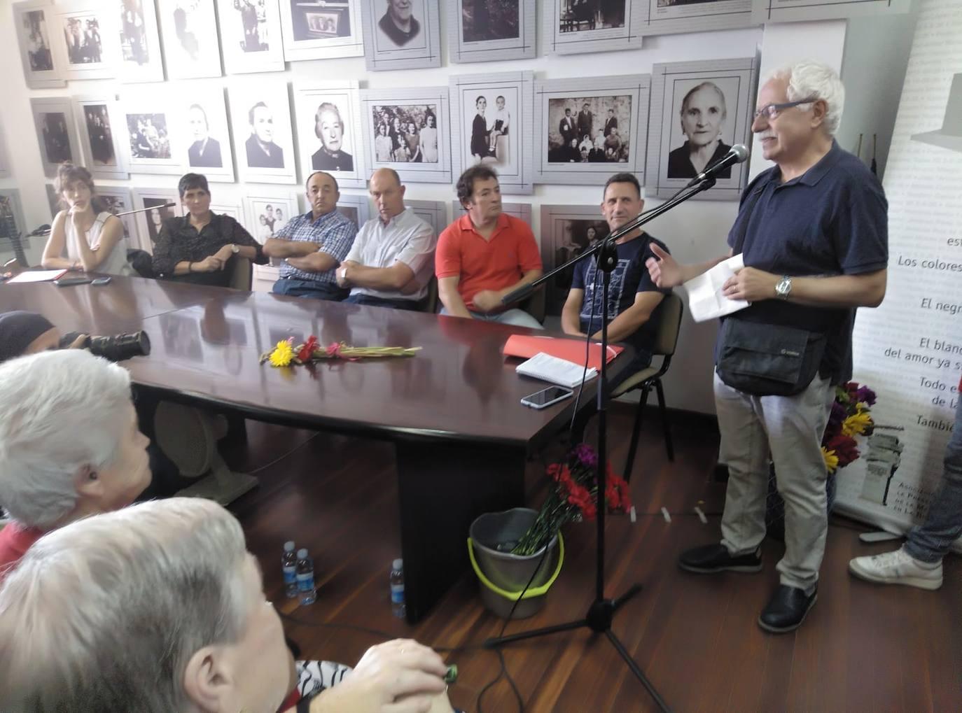 IU reaviva el debate sobre la restitución de los concejales represaliados en Haro