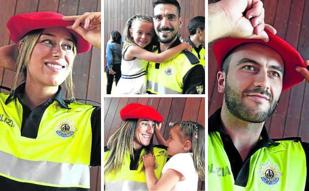 Los nuevos policías de Bilbao: «Es una gran responsabilidad, pero sabemos a lo que venimos»