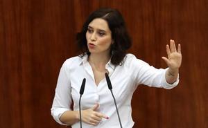 Ayuso logra su investidura en Madrid tras comprometerse a cumplir el acuerdo con Vox