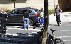 Dos ciclistas atropellados en Bilbao y Getxo