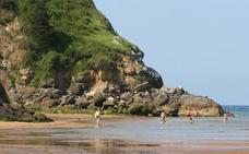 Detectan altos niveles de bacterias fecales en la playa de Ea