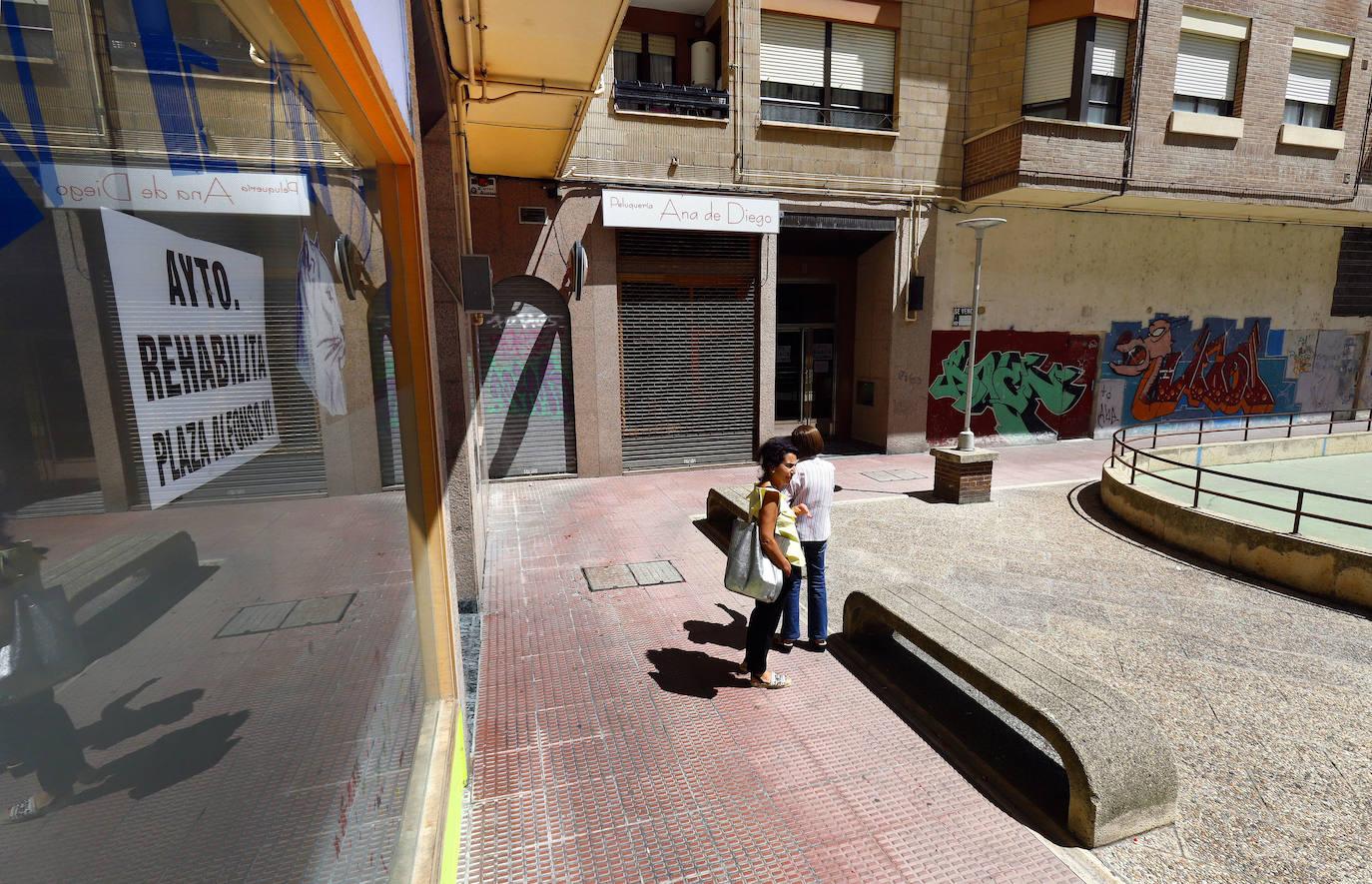 El informe urbanístico sobre la plaza Alfonso VI «desaconseja demoler cualquier elemento»
