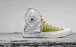 Converse, material birziklatuekin eginiko zapatilen aitzindari