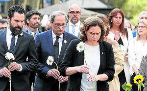 Las víctimas miran con recelo los actos de homenaje por los atentados del 17-A