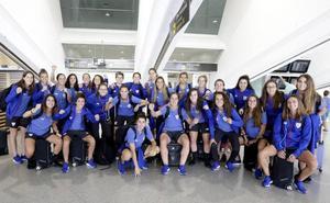 «No nos ponemos techo», animan las jugadoras del Athletic tras ganar el Trofeo Carranza