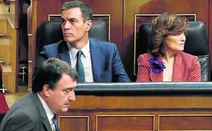 El PNV solo se plantea el 'sí' a Sánchez si es determinante para que sea investido