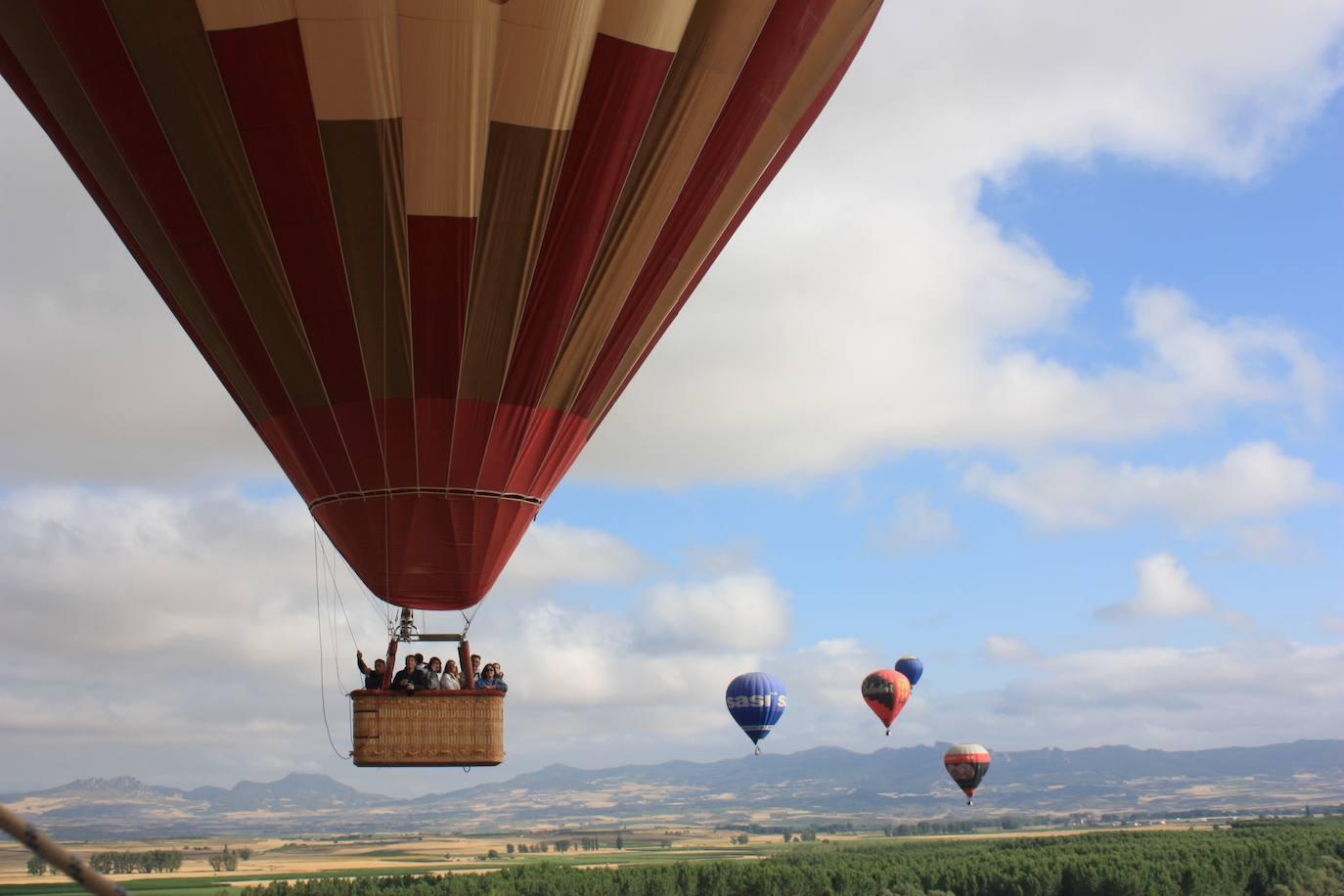 La regata Crianza de Rioja arranca 'a medias' por culpa del fuerte viento