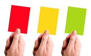 Verde, amarilla, roja