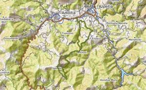 Samiño/Irumugarrieta (933 m.), Gurutzeta (928 m.) y Pagola (823 m.)