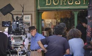 Woody Allen acaba su rodaje en San Sebastián una semana antes de lo previsto