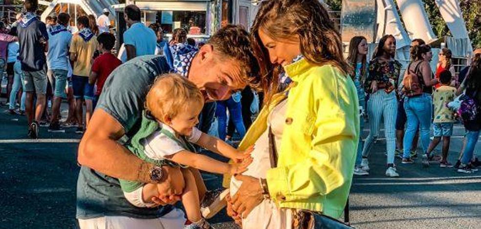 Ibai Gómez e Ingrid Betancor volverán a ser padres el año que viene