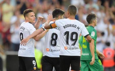 La Real rescata un punto 'in extremis' en Mestalla