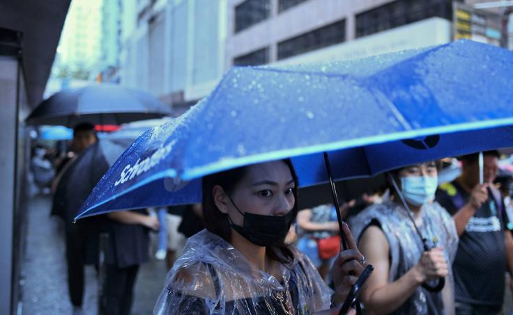 La gran manifestación en Hong Kong que desafía a la Policía