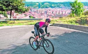 Desniveles de hasta el 20% en Arraiz, uno de los puertos inéditos de la Vuelta