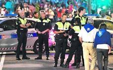 Ocho detenidos, 10 denuncias por robo con violencia y 78 por hurto en la primera jornada de fiestas