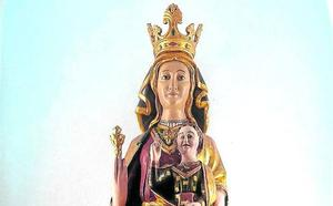 La Virgen de Ibernalo recobra su hermosura