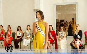 La vitoriana Erika Villar alcanza el 'top 20' en Miss World Spain