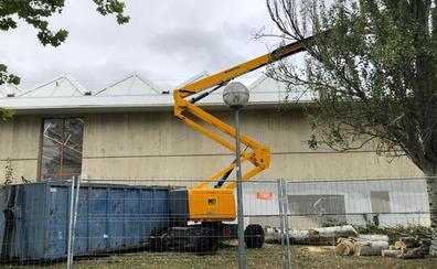 Arrancan las obras para mejorar la accesibilidad y la seguridad del complejo Beti Jai de Vitoria