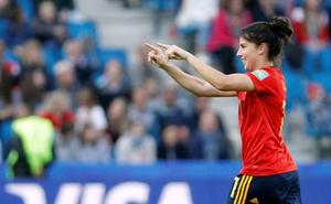 Lucía García, convocada de nuevo por la Selección