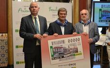 La ONCE dedica un cupón especial al Mercado de la Ribera