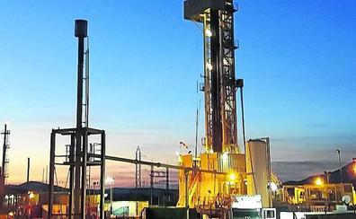 El gas del pozo que el Gobierno vasco explota en La Rioja cubriría ya el 60% del consumo vizcaíno
