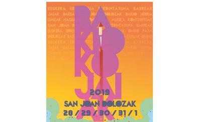 Programa de fiestas de Bakio 2019: San Joan Dolozak