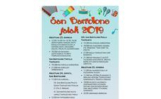 Programa de fiestas de Gatika 2019: San Bartolome Jaiak