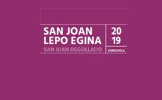 Programa de fiestas de Gordexola 2019: San Juan Degollado