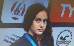 Alba Vázquez, oro y récord del mundo júnior en los 400 estilos