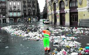 Menos basura en la Aste Nagusia