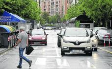 Urquijo perderá un carril de circulación entre la Alhóndiga y la plaza Indautxu