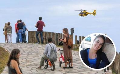 Buscan a una joven que cayó al mar en Asturias