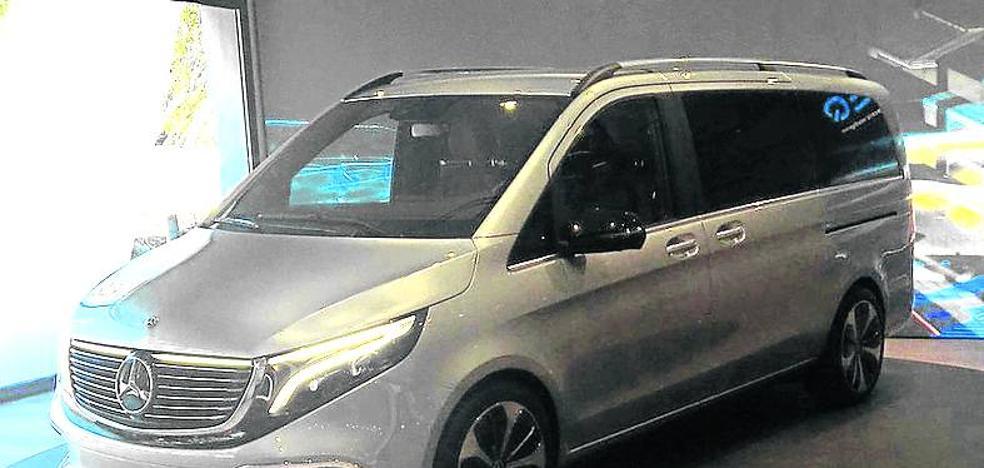 Mercedes presentará en Fráncfort la nueva Clase V eléctrica 'made in Vitoria'