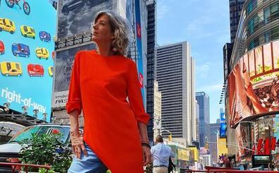 La bilbaína que da una lección de estilo con sus looks por Nueva York