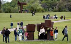 Chillida Leku, el jardín del escultor