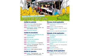 Programa de fiestas de La Cruz 2019: Portugaleteko Jaiak