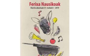 Programa de fiestas de Elorrio 2019: Ferixa Nausikoak