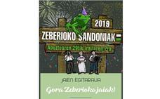 Programa de fiestas de Zeberio 2019: Sandoniak