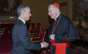 Urkullu vuelve al Vaticano dos años después para defender el reparto por cuotas de refugiados