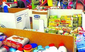 Ermua analiza complementar el Banco de Alimentos con aportación municipal