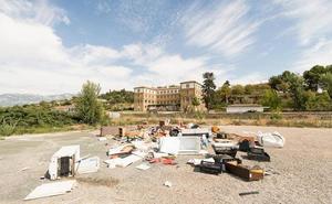 Denuncian el vertido irregular de residuos en Laguardia
