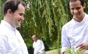 Cocina sabrosa y depurada en Les Frères Ibarboure (Bidart)