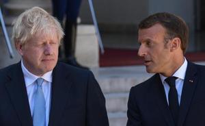 Macron advierte a Johnson de que no se cambiará el acuerdo del 'brexit'