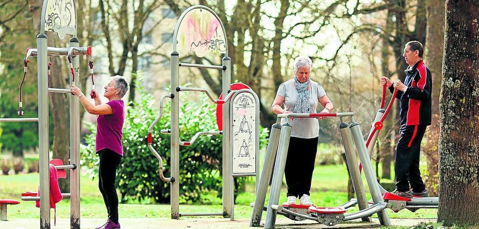 Parques de salud para una Vitoria envejecida