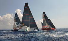 La Fórmula 1 del mar se prueba antes del inicio del Mundial