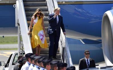 Y Trump aterrizó... en Burdeos